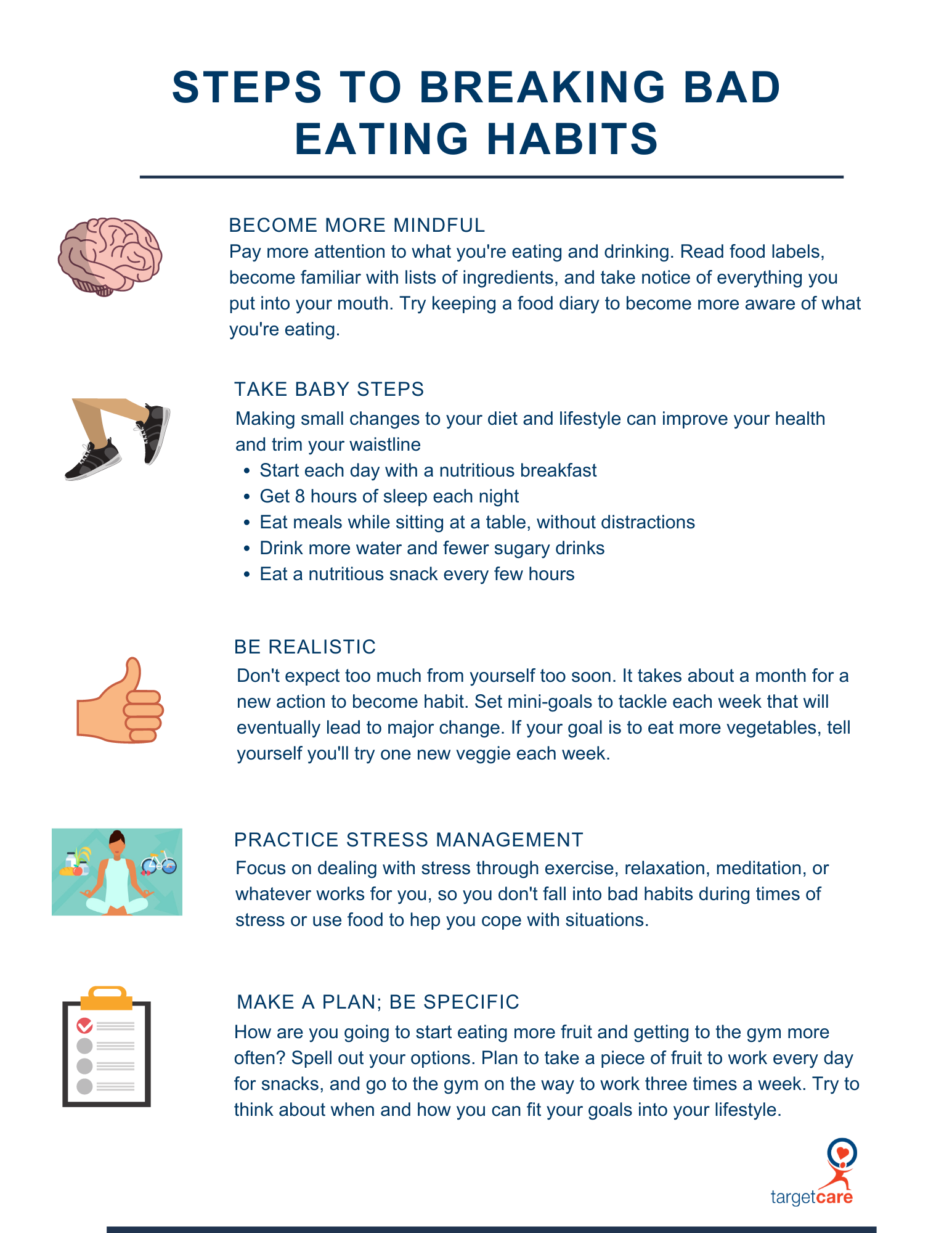 5 Steps to breaking bad eating habits (1)