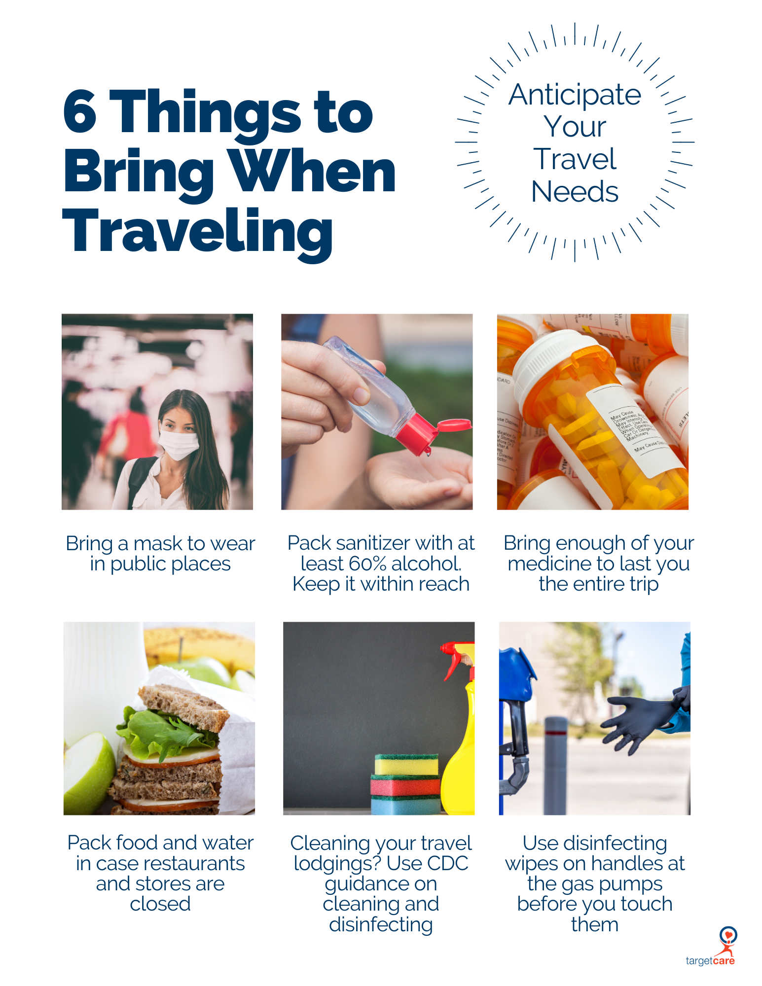 6 Things to Bring When Traveling