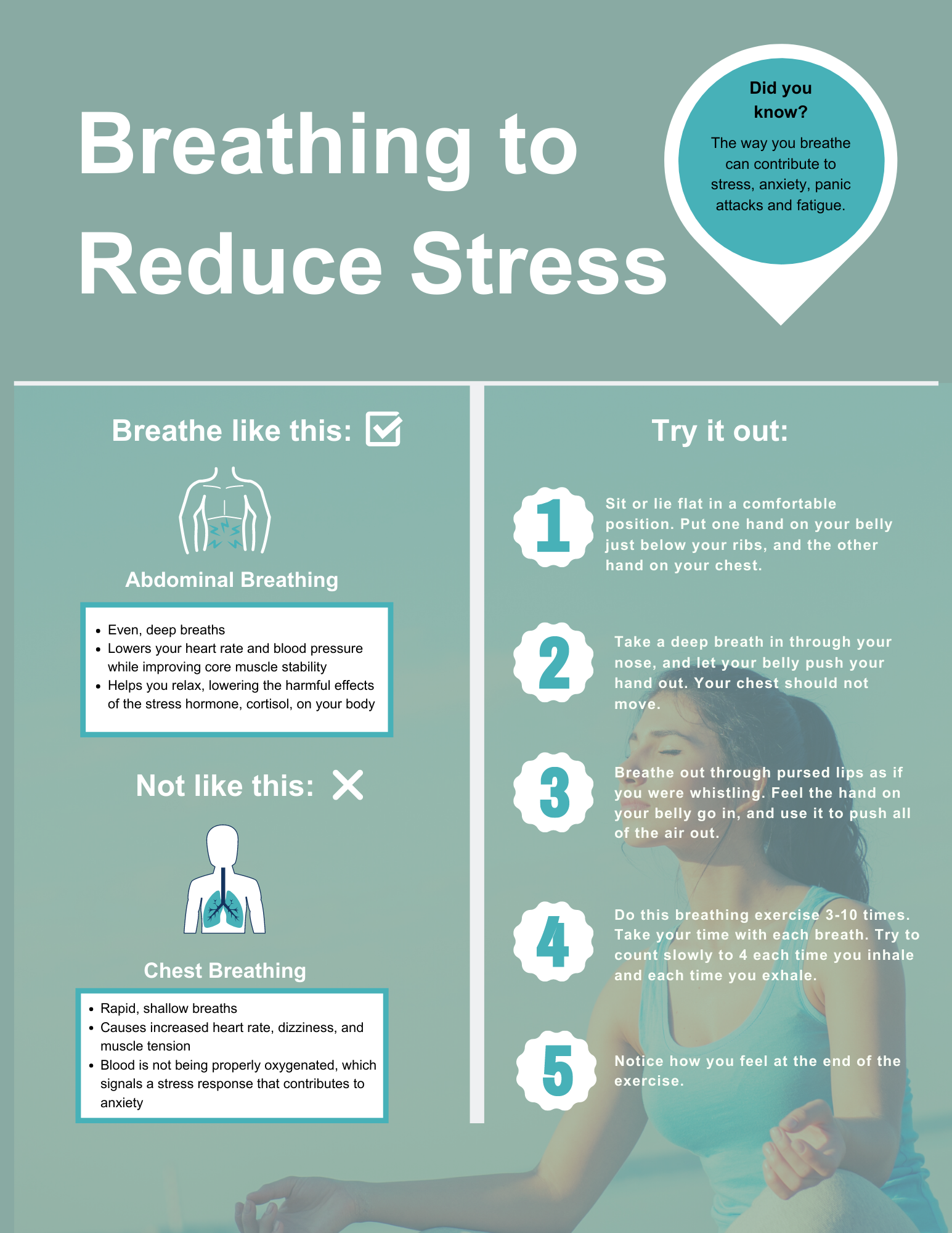 Breathing To Reduce Stress
