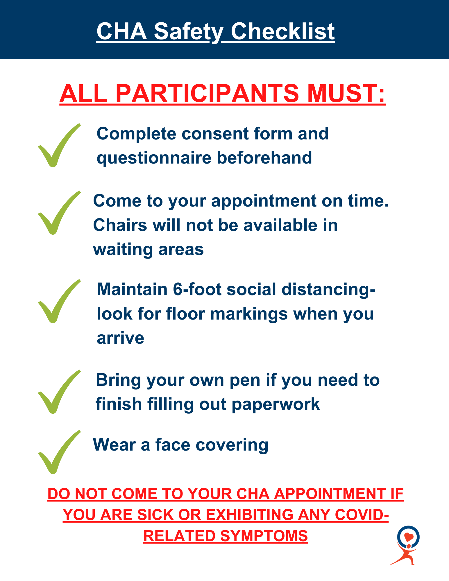 CHA Safety Checklist (1)
