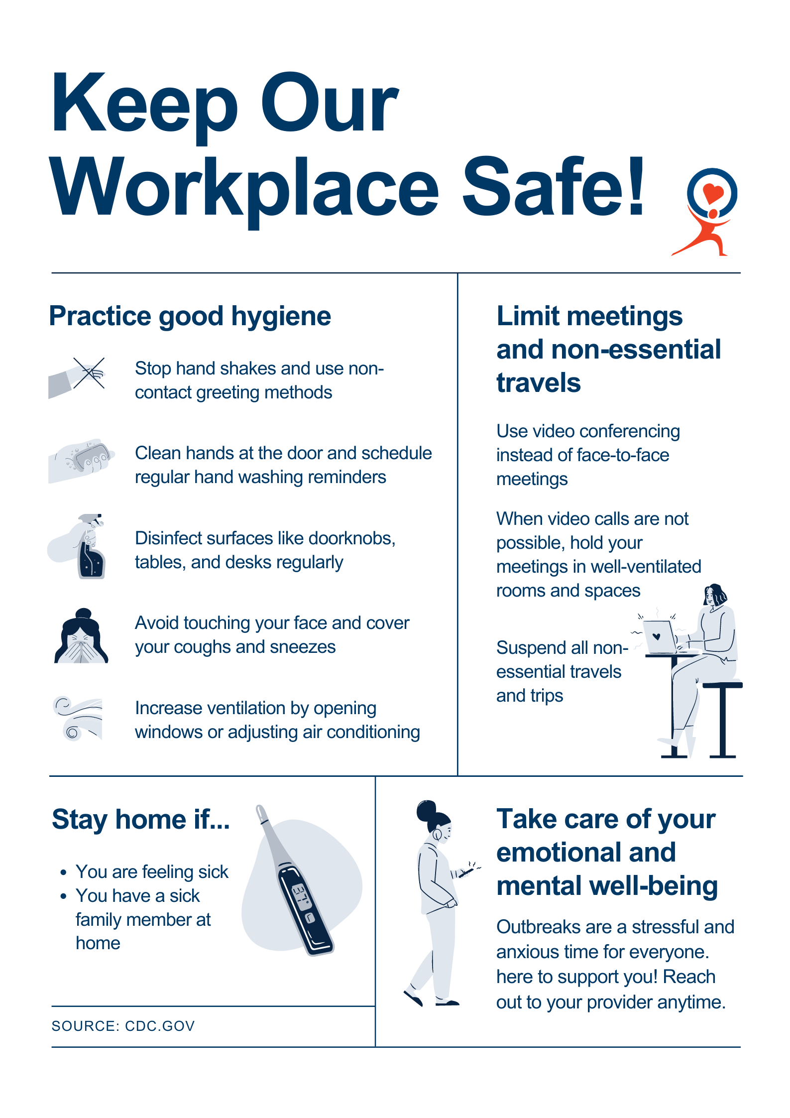 Keep Our Workplace Safe!