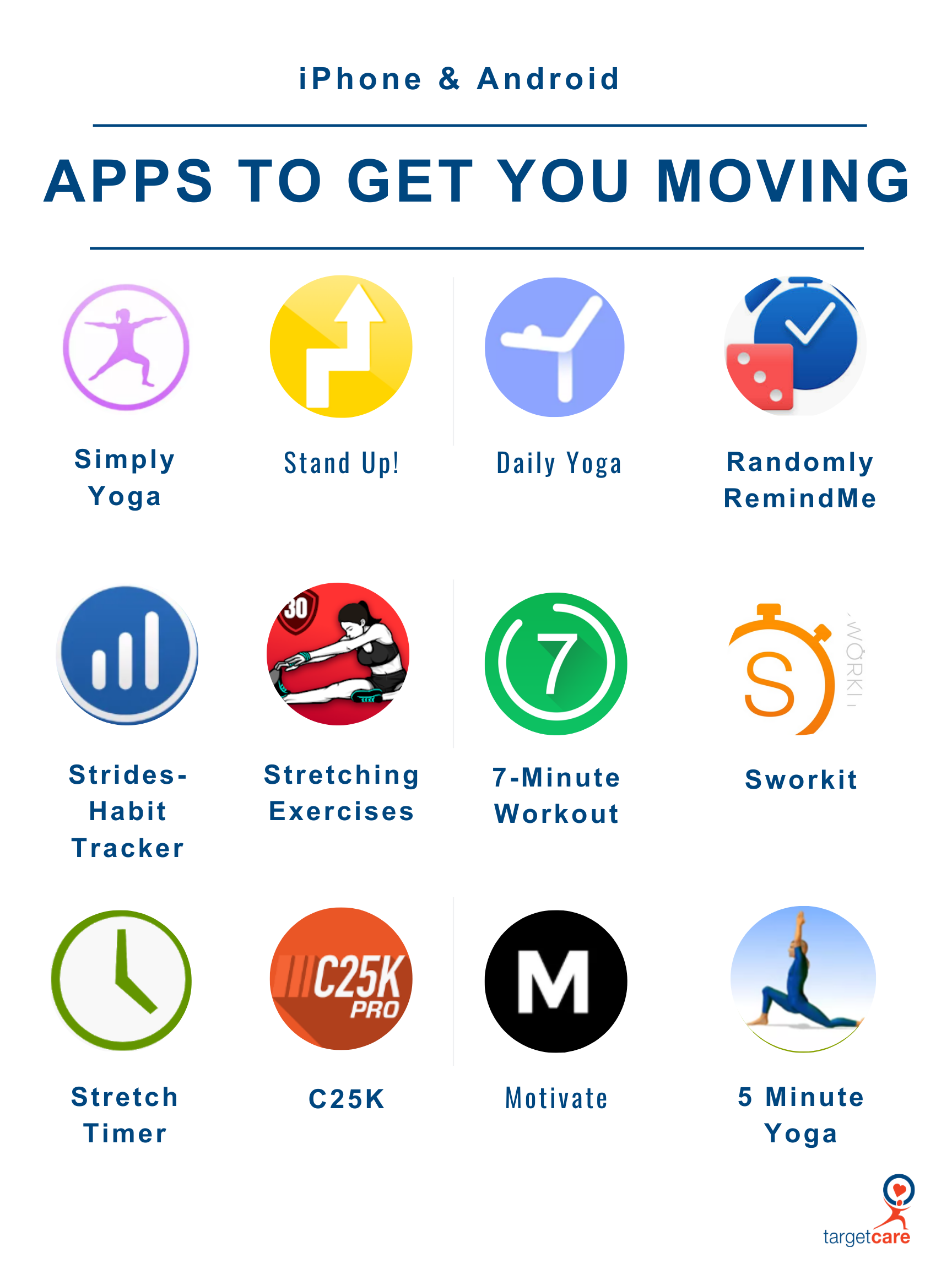 get moving apps