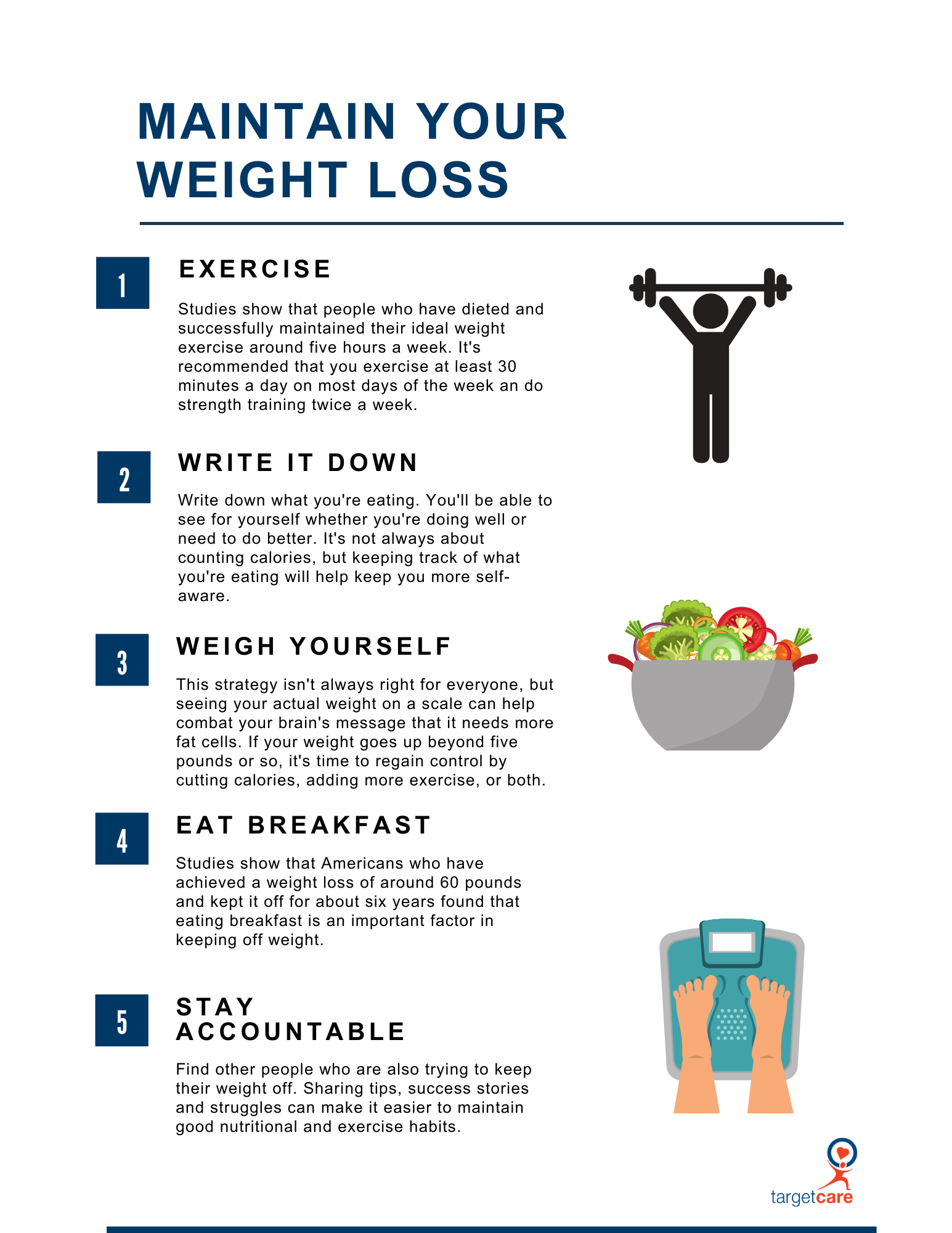 maintain your weight loss